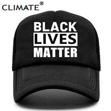 Климатическая черная Живая масса шапка я не могу дышать антирасистская