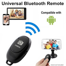Затвор спуск кнопка для селфи камера беспроводной контроллер адаптер фото управление Bluetooth пульт кнопка для iOS +% 2F Android