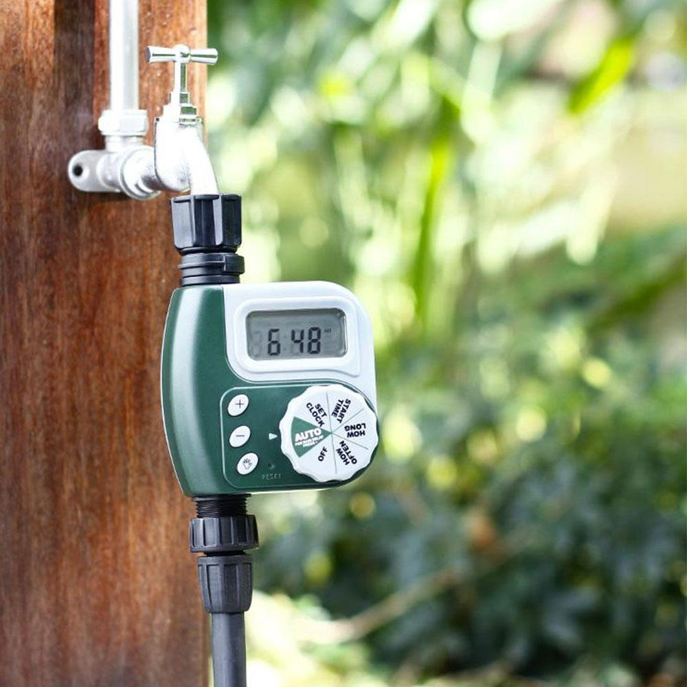 Waterproof Irrigation Timing Device Green Planting Botany Water Pipe Water Pipe Timer Faucet Timer ABS G3/4 Interface