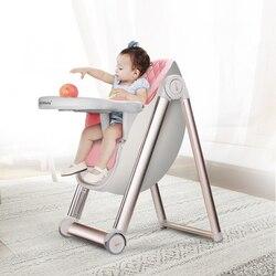 Multi-funktion Aluminium Legierung Kann Einstellbar Baby Esszimmer Stuhl Tragbare Kinder Tisch Hocker Lernen Stuhl Infant Sitz