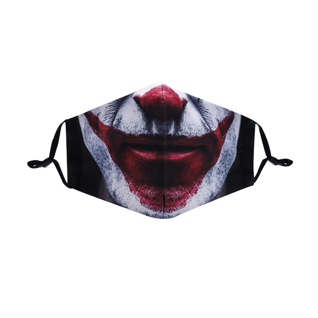 3D Reusable Mouth Mask Washable Protective PM2.5 Filter Anti Dust Face Mask Windproof Stylish Cotton Sumer Man Anti Flu Mask 2
