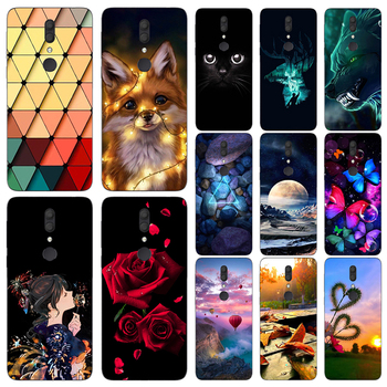 Cartoon Soft TPU Phone Case Cover For Alcatel 3 5052 5053 3X 5058 5048 3C 5026D 3V 5099D 3L 2019 2018 Fundas Phone Case Cover image