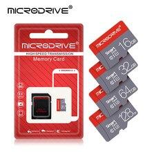 Microdrive micro tf cartão de memória 128gb 64gb micro sd cartão class10 8gb 16gb 32gb de alta velocidade para o telefone