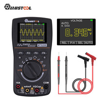 Oscilloscope Multimeter Digital Electronic-Test MUSTOOL HD with Color-Screen for MT8028