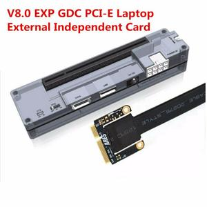 V8.0 EXP GDC PCI-E Portable External Video Card Dock Graphics Card Laptop Docking Station PCI-E 6pin 8pin Expresscard Interface