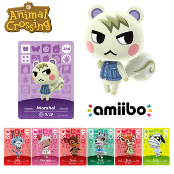 Villager Amiibo Animal Crossing Card Set Amiibo New Horizons NFC For Nintendo Switch NS Games 264 Marshal Series 1 2 3 4