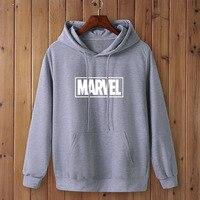 Marvel Logo Hoodie Unisex (16 Colors) 6