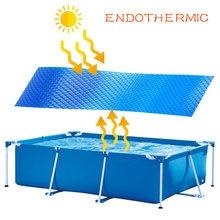 Чехол для бассейна на солнечной батарее непромокаемый пылезащитный