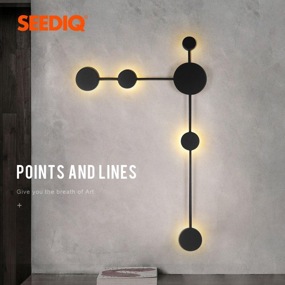 Lámpara Led de pared moderna y creativa, candelabro de pared de salón, 3 colores, regulable, para interior y dormitorio