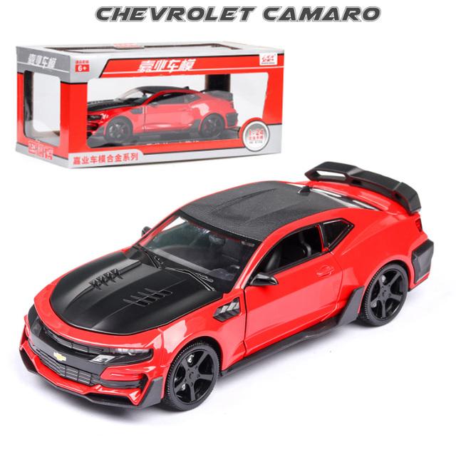 1:24 Toy Car Excellent Quality Chevrolet Camaro Metal Car Toy Alloy Car Diecasts & Toy Vehicles Car Model Toys For Children