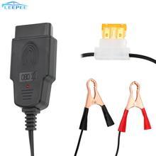 OBD2 strumento di sostituzione della batteria Universal Automotive Professional Auto alimentatore di emergenza cavo Car Computer ECU Memory Saver