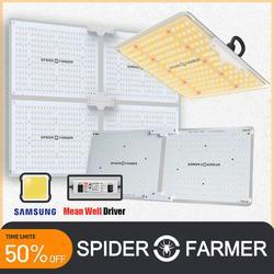 SF 1000W 2000W 4000W Spider Farmer полный спектр Led Grow Light Samsung Lm301B Meanwell драйвер Квантовая доска для цветочных растений