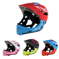 Youth Kids Children Cycling Scooter Skateboard Full Face Safety Motorcycle Bike Helmet Outdoor Sports Head Protector