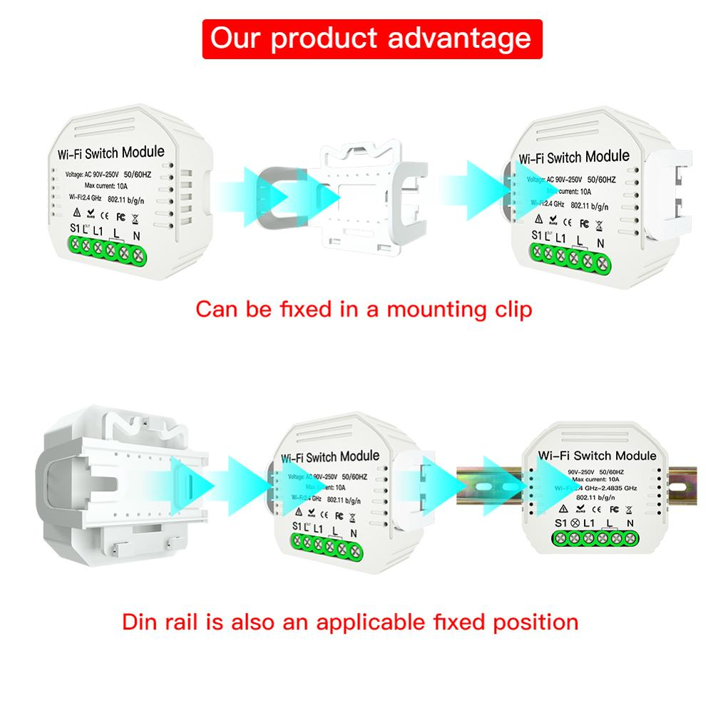 Smart Wifi Blind Blind Switch For Electric Motorized Roller Shutter Curtain Works With Alexa Google Smart Home