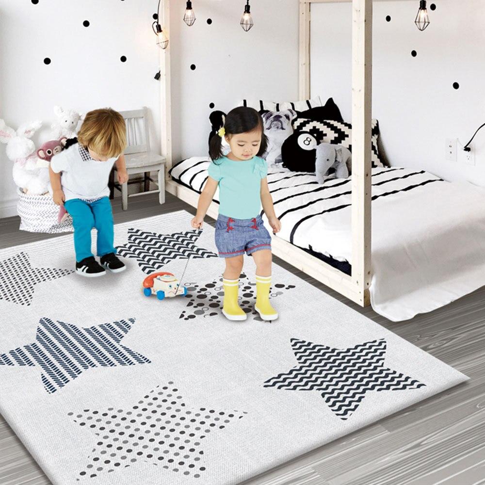 Tapis de jeu anti-dérapant pour bébé enfants tapis de jeu Puzzle pliant tapis de jeu tapis de jeu en mousse souple tapis rampant matelas de jeu tapis de jeu d'activité bébé - 3