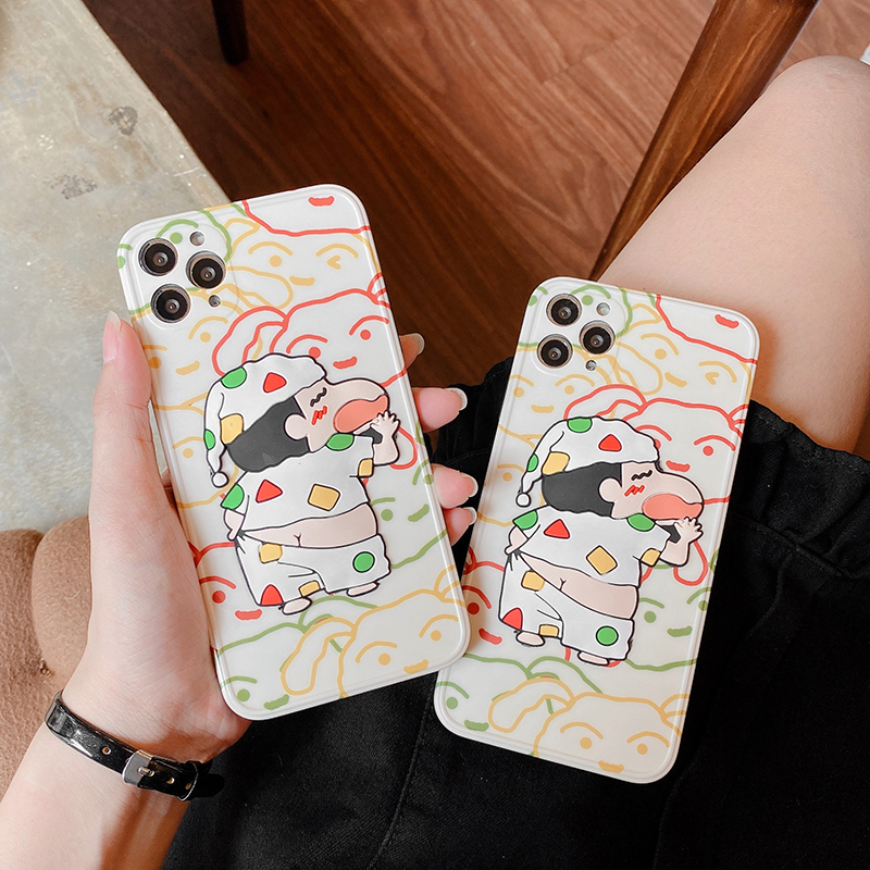 Cartoon Japan Anime Dog Phone Case For Iphone12 Pro Max 7 8 Plus XR XS MAX 11Pro Max 12Mini IMD Soft Silicone Backcover