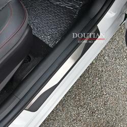 Nowe listwy progowe drzwi ze stali nierdzewnej listwy ochronne do siedzenia ATECA FR x perience listwa progowa do akcesoriów ATECA FR 2018 w Ochronne listwy boczne od Samochody i motocykle na