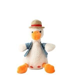 Plush Duck Toy Talking Repeati