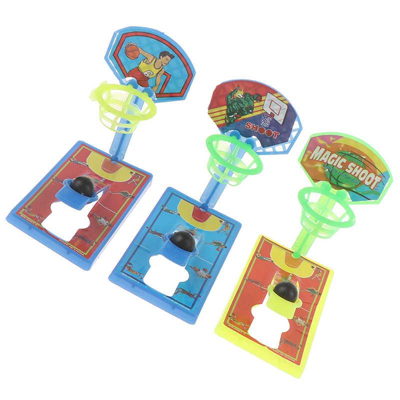 2set Mini Tasca Dito Basket Desktop Macchina di Ripresa Anti-stress Decompressione Giocattolo Per Bambini Genitore-bambino Giochi Interattivi