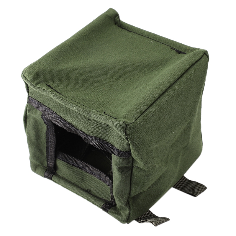 Super Sell-Foldable Sling Shot Archery Target Box Cloth Target Box Recycle Archery Hunting Catapult Case Holder Camouflage Box
