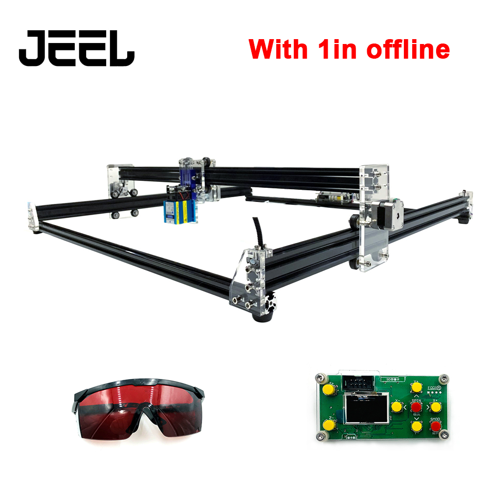 DIY 15W CNC Cutter /Laser Engraver 6565 For Metal Engraving Wood Cutting Machine Router Picture CNC Engraving Machine