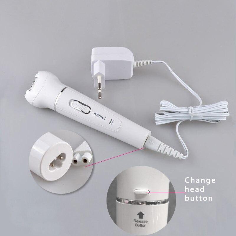 Эпилятор 5в1 электробритва для женщин, эпилятор, перезаряжаемый триммер для удаления волос, эпилятор для лица, бикини, тела, ног, подмышек 5