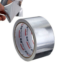 AL Aluminum Foil Joint Sealing Radiation Thermal Resist EMI Mask Adhesive Tapes цена 2017