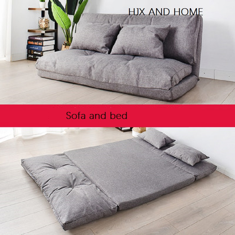 Creative Multifunctional Folding  Mattress Sofa Bed Leisure And Comfort Tatami Mats Change Form Bedroom Sofa Bed Chair