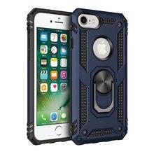 Mokoemi demir zırh şok geçirmez sFor iPhone 7 8 vaka için iPhone 8 7 artı cep telefonu kılıfı