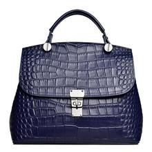 Torba na ramię projektant torebki damskie torebki biurowe dla kobiet 2020 nowe torebki damskie teczka torba z prawdziwej skóry torebki i torebki tanie tanio Saffiano Torby na ramię Na ramię i torebki Skóra bydlęca Hasp SOFT Solidna torba Biznes 9840-D Poliester WOMEN ALLIGATOR