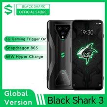 Black Shark 3 – téléphone portable de jeu, Version globale, 8 go 128 go, Snapdragon 865 5G Octa Core, Triple caméra AI 64mp, chargeur 65W, JOYUI 11