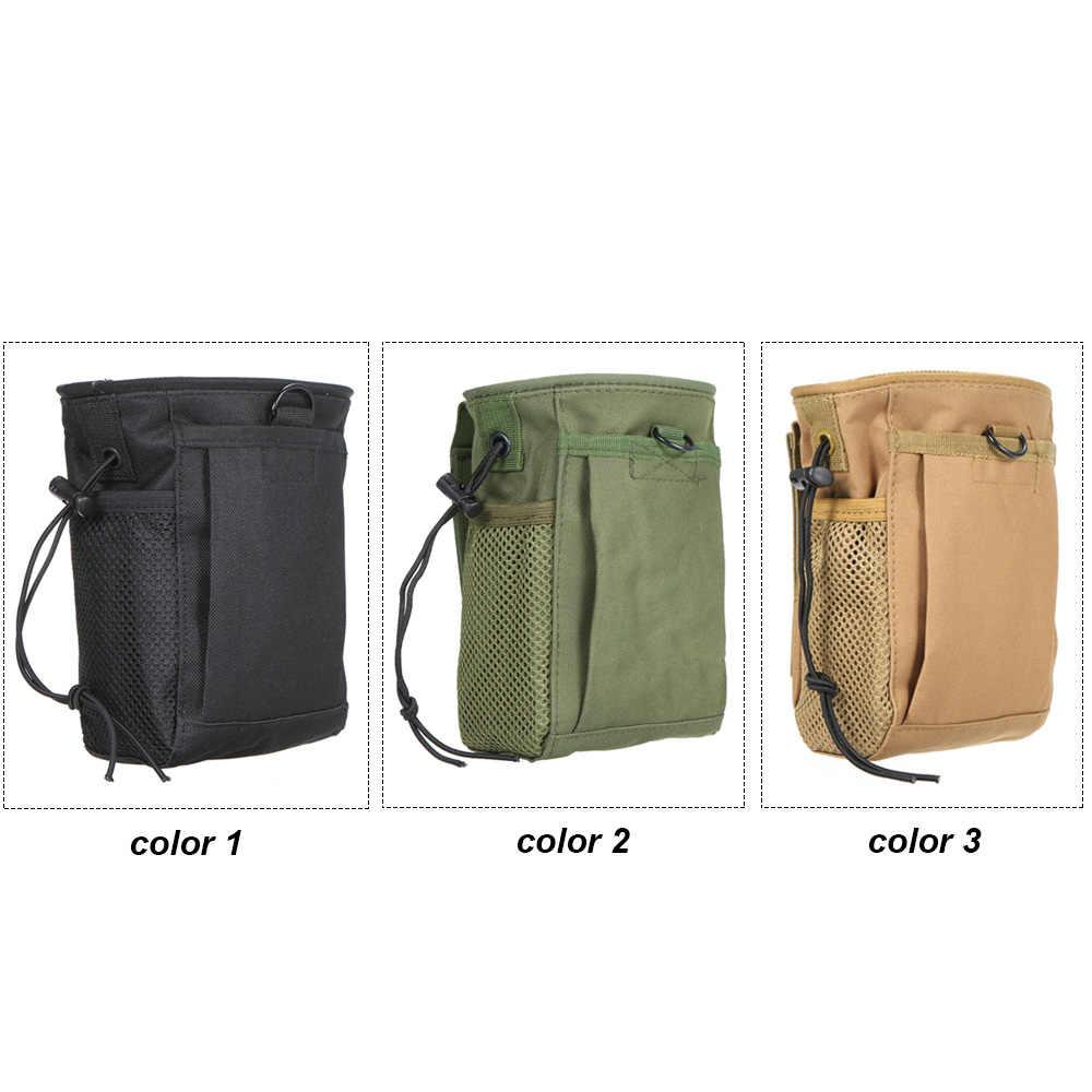 متعددة جيوب حقيبة صيد تعلق المعصم ظهره سترة حزام كيس مزموم في الهواء الطلق الهاتف تخزين لفة المتابعة تدوير حالة
