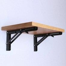 2 個の三角形折りたたみ角度ブラケット調整可能な壁がheavyサポートベンチテーブル棚ブラケットdiyホームテーブルベンチ