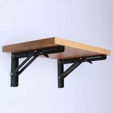 2PCS משולש מתקפל זווית סוגר מתכוונן קיר רכוב כבד תמיכה ספסל שולחן מדף סוגר DIY בית שולחן ספסל