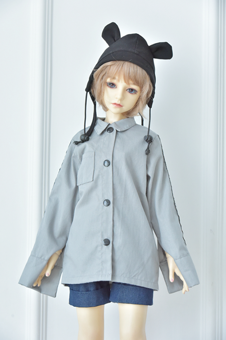 1/3 1/4 <font><b>1/6</b></font> <font><b>BJD</b></font> SD doll <font><b>clothes</b></font> Blyth baby <font><b>clothes</b></font> Long-sleeved shirt trouser doll <font><b>clothes</b></font> dolls accessories girls toys gifts image