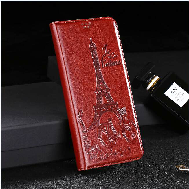 Wallet Cover For Ginzzu S4020 S4030 S4010 S4510 S4710 S4720 S5002 S5001 S5010 S5020 S5021 case Flip Phone Cover Leather(China)