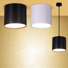 [DBF] высокий яркий потолочный светильник Epistar COB 3 Вт 5 Вт 7 Вт 10 Вт 12 Вт 15 Вт проволочный подвесной потолочный Точечный светильник для бара и кухни