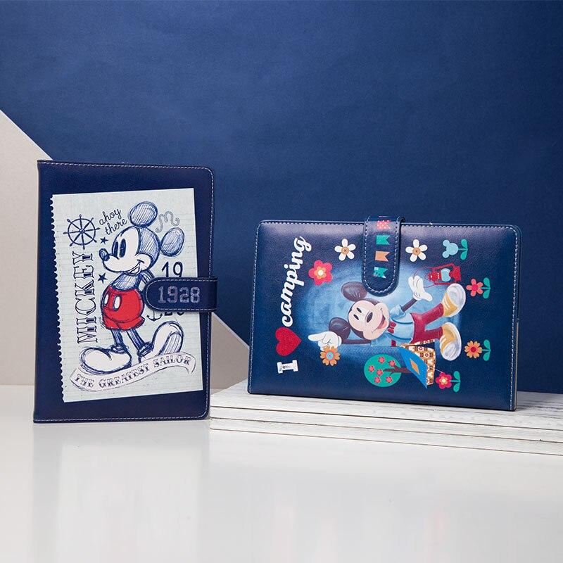 Disney Mickey Minnie Cartoon Cute Notebook Mickey Mouse Creative Hardcover Notebook Boy Girl Stationery Student School Supplies