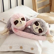 90cm cute long arm sloth soft stuffed plush toy cartoon doll child gift home decoration WJ200