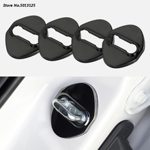 For Honda Accord 10th 2018 2019 Stainless steel Car Accessories door lock buckle protector cover trim sticker Car Accessories цена и фото