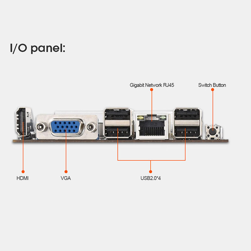 Onboard 1037U CPU HM77 Chipset VGA HDMI 8-GPU Bitcoin motherboards for miner PCI-E 16X Cryptocurrency Mining BTC Motherboard 5