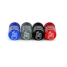 4pcs Tires Stem Air Valve Caps Universal Car Wheel Core Dust Covers For Volkswagen Tiguan Golf Polo Nissan Qashqai X-Trail Tiida
