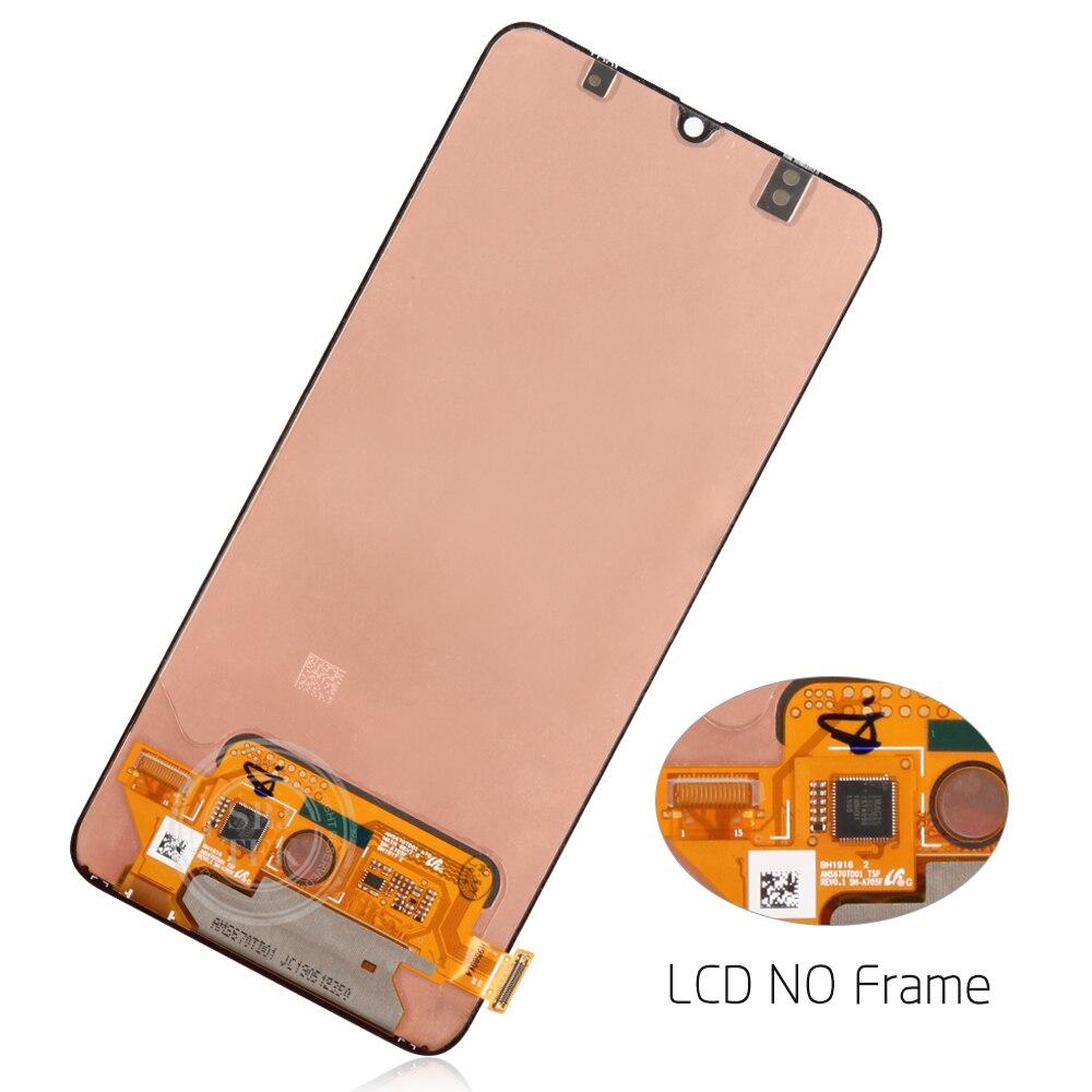AMOLED экран для Samsung Galaxy A70 LCD сенсорный дигитайзер Сенсорное стекло в сборе для Samsung A70 дисплей A705 A705F A705FD - 4