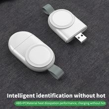 Портативное беспроводное зарядное устройство для IWatch 6 SE 5 4, зарядная док-станция, зарядный USB-кабель, шнур для Apple Watch Series 5 4 3 2 1