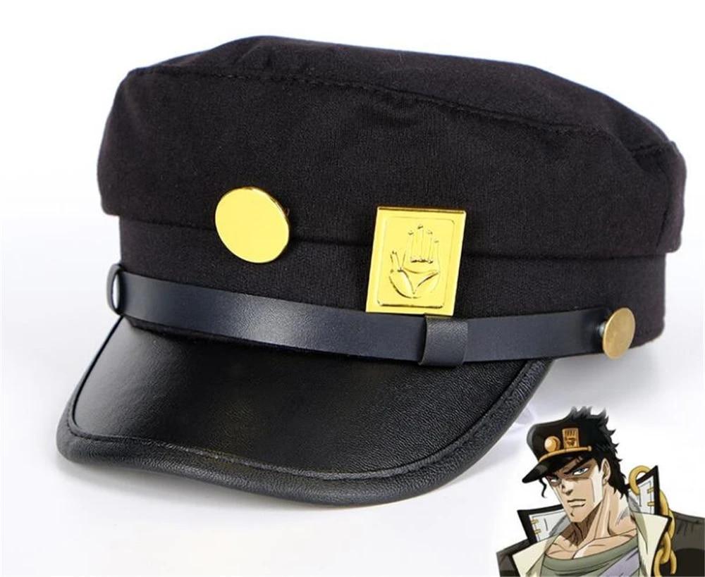 JoJo/'s Bizarre Adventure Cosplay Cap Accessories Flatcap Badges Anime AroundWM