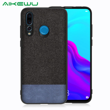 PHOPEER Case for Huawei Nova 4 case Soft silicone fabric cloth protective cover Nova4