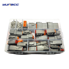 Wire-Connector-Kit Waterproof Sealed-Plug Deutsch 202pcs with Pins DTM Automotive 3/4/6-/..