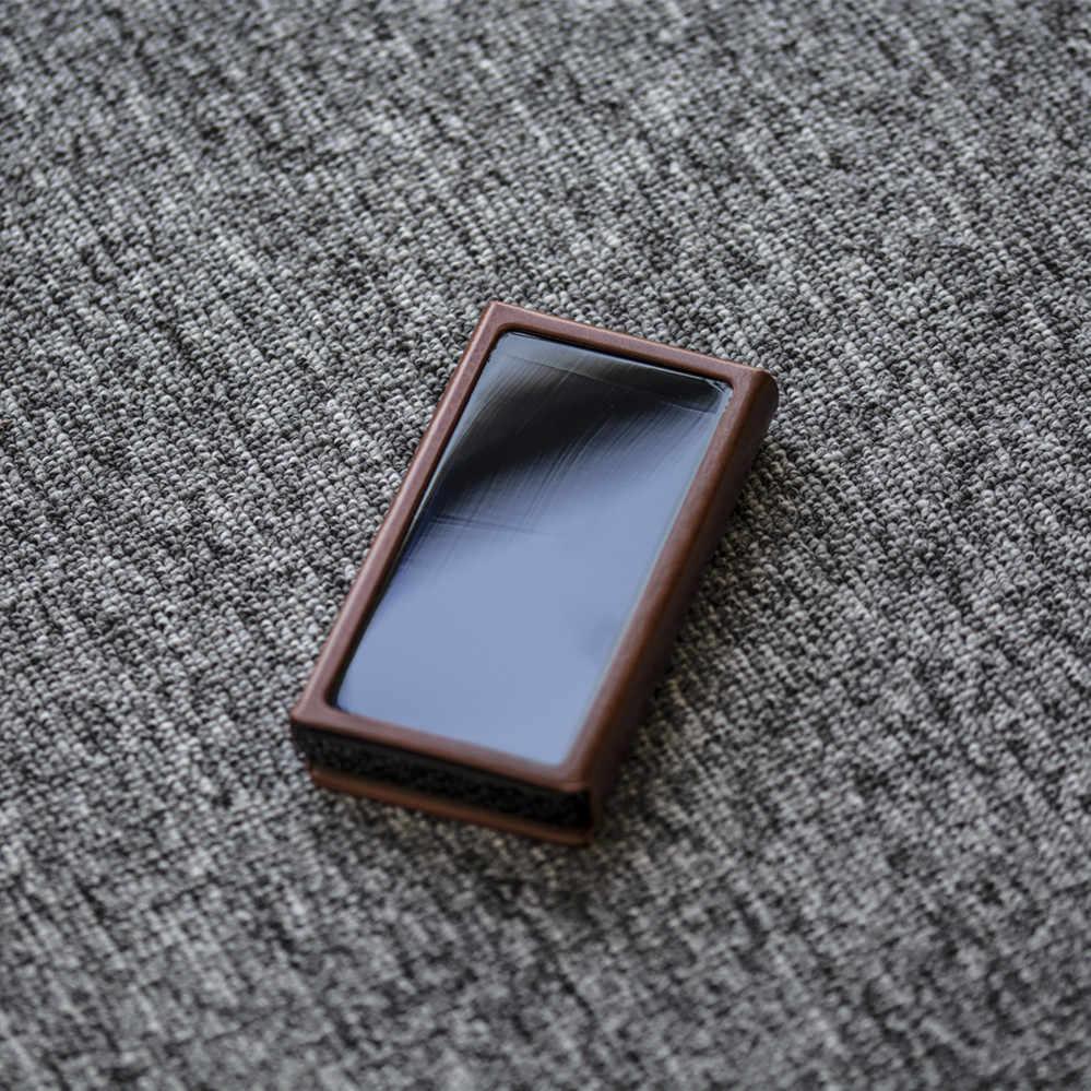 Leather Case Voor Hiby R5 Hoge Resolutie Audio Draagbare Speler Hi-Res Muziekspeler Bluetooth MP3 Speler Hifi Muziek speler