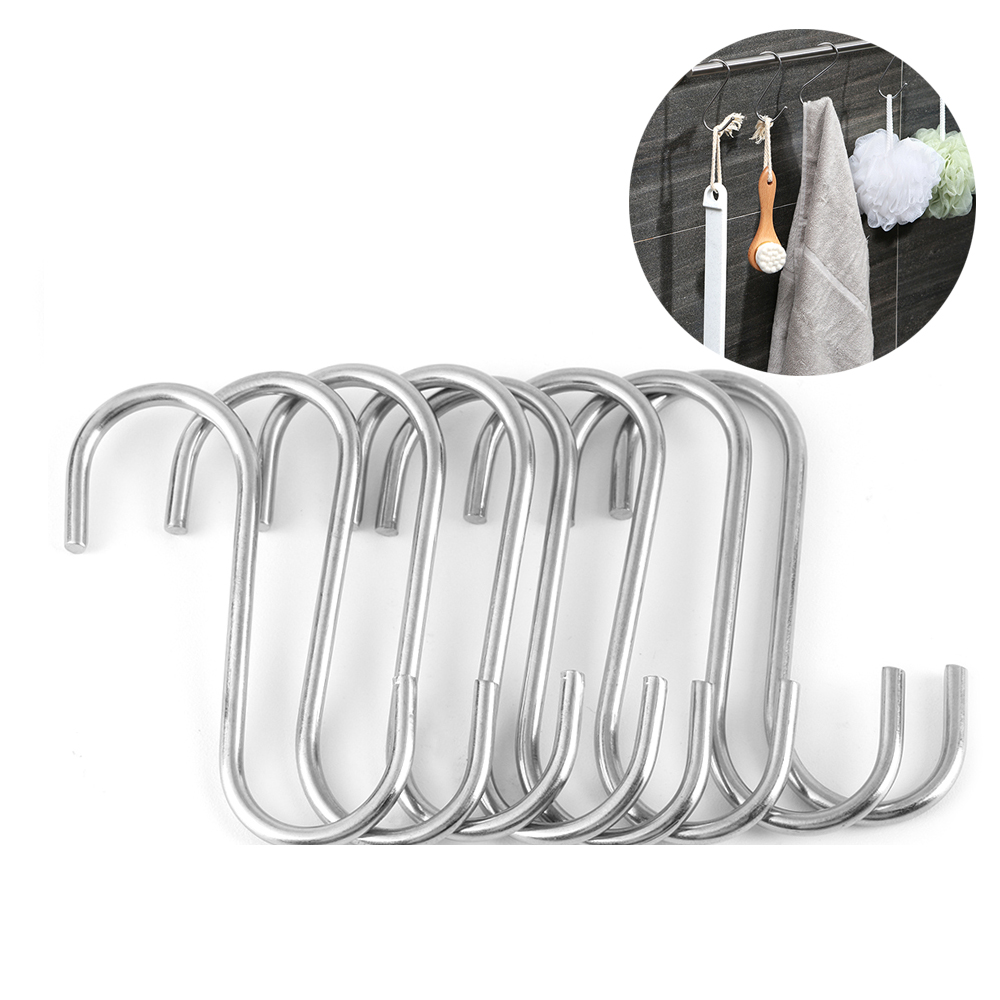 Home /& Kitchen Organizer Double S Shaped Hook Storage Rack Hanger Clasps Hooks