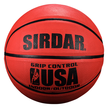 SIRDAR Basketball ball Size 5 for students Wholesale maroon Rubber laminated basketball outdoor training basketball image